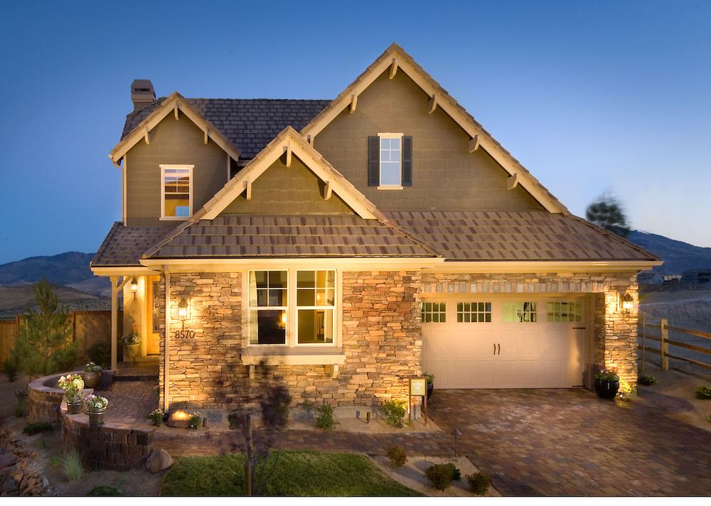 Residential New Homes Ryder Homes Talon Pointe, Reno, NV
