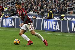 November 26, 2017 - Milan, Italy - André Silva of AC Milan during Italian serie A match AC Milan vs Torino FC at San Siro Stadium  (Credit Image: © Gaetano Piazzolla/Pacific Press via ZUMA Wire)