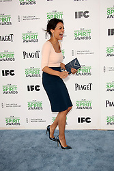 Rosario Dawson at the 2014 Film Independent Spirit Awards Arrivals, Santa Monica Beach, Santa Monica, United States, Saturday, 1st March 2014. Picture by Hollywood Bubbles / i-Images<br /> UK ONLY