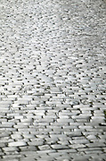 Czeck Republic - Prague, cobblestone street paving