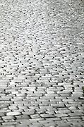Czeck Republic - Prague, cobblestone street paving