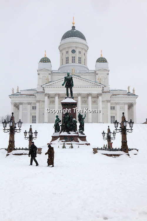 helsinki church in Finland
