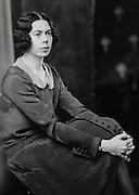 Dorothy de Selincourt, wife of A.A. Milne, England, UK, 1925