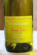 Cuvee Julie Grenache Blanc. Domaine Comelade, Estagel. Roussillon. France. Europe. Bottle.