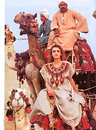 Adriana Stastny. <br /> Harper's Bazaar Italy Fashion Editorial circa late 1980s. Egypt.<br /> Style Editor Emina Yukovic.<br /> <br /> Gear:<br /> Nikon F2A, Nikon F3, Nikon F4, 85mm F1.4 200mm F2.0 <br /> Metz 45 CT-1 Flash.<br /> Black and White Kodak 35mm Tri-X ISO 400-800 push +1 <br /> Ilford Gallerie Bromide Photographic Paper Grade 3<br /> Hand Toned with Berg Tone. Air Dry, Pressed.<br /> Color Kodak EES 400 shot at 800-1200 process +1 special temperature control above normal Transparency Film.