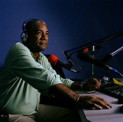 "Mario Vieu is the owner, director and a broadcaster at Signal FM, a small station in Petion- Ville, Port au Prince. As soon as the earthquake struck he made his way to the Radio station; by accident or design, some one had left Hotel California radio station playing on a loop. His staff were afraid to go in but he managed to persuade some journalists to come and chat about what had happened and has been broadcasting ever since. ""We had a minimum of 5000 people outside  all the time for four days (not the same people). We just gave them a microphone  and then broadcasted  messages all day. ""We were like a phone with two people but broadcasting to the whole city. People would call in , 'My wife and kids are under the debris  - would you send help?'; afterwards they would come back and say, thank you."""