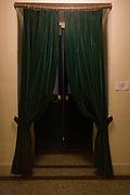 Curtained door inside the Opera Garnier, Paris