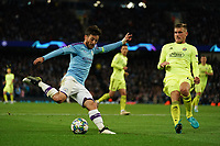 Manchester City's Bernardo Silva<br /> <br /> Football - 2019 / 2020 UEFA Champions League - Champs Lge Grp C: Man City-D Zagreb<br /> <br /> , at Etihad Stadium<br /> <br /> Colorsport / Terry Donnelly