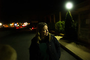 """FAIRFAX, VA – NOVEMBER, 2012: Susan Allen, 63, takes a walk on the city sidewalk before returning to her vehicle, where she will sleep in a hidden parking lot.<br /> <br /> As the economic downturn trickles through the American job market, a rising number of middle class workers are finding themselves on the verge of homelessness. Susan Allen, 63, worked most of her adult life as a legal administrative assistant – a career that afforded her a comfortable, but modest lifestyle. Allen didn't save much of her income, and without family members to rely on after losing her job in the 2008 recession, Allen was forced to dip into what savings she had to stay afloat. Two years later, following a succession of layoffs from part-time jobs, Allen eventually succumbed to homelessness.<br /> <br /> Today, Susan Allen lives out of her 2006 Saturn Ion – her most valuable asset – while struggling to meet her basic needs. The perpetual search for employment has proven difficult for her and job-seekers like her across the country, who near retirement age find themselves thrust back into the most competitive job market the United States has seen in decades. Yet despite her challenges, Allen remains hopeful. As someone who used to think she was firmly planted in the middle class, she believes fear drives most people's attitudes toward the homeless. """"You think you're never going to be in that situation,"""" Allen said. """"But now when you see people who are down and out, maybe you realize you're only one or two paychecks away from that yourself. That's why so many people turn away from me,"""" Allen says. """"I'm a constant reminder of what might happen to them."""""""