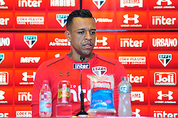 November 22, 2017 - Brazil - SAO PAULO, SP - 22.11.2017: TREINO DO SPFC - Sidao during a collective before the SPFC training held at CCT Barra Funda, in the West Zone of Sao Paulo. (Credit Image: © Fotoarena via ZUMA Press)