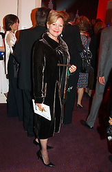KAY SAATCHI at the English National Opera's 'On The Town' presented by SKY and Artsworld followed by a Tribute to Leonard Bernstein hosted by Jerry Hall at The London Coliseum, St.Martin's Lane, London WC2 on 11th May 2005.