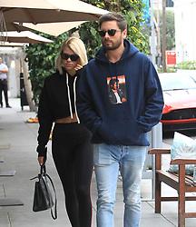 November 1, 2017 - Los Angeles, California, USA - 10/31/17.Sofia Richie and Scott Disick are seen in Los Angeles, CA. (Credit Image: © Starmax/Newscom via ZUMA Press)