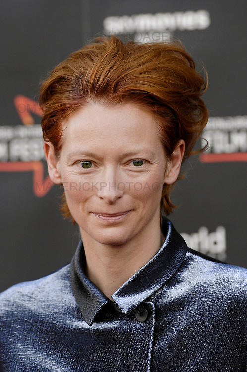 """""""Hallam Foe"""", a magical story of redemptive love, loss, and life on the rooftops of Edinburgh. Young Hallam is played by Jamie Bell in his first starring role since Billy Elliot.  Pictured Tilda Swinton"""