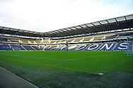 MK Stadium during the EFL Sky Bet League 1 match between Milton Keynes Dons and Hull City at stadium:mk, Milton Keynes, England on 21 November 2020.