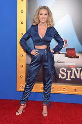 Victoriah Bech bei der Premiere von Sing in Los Angeles / 031216