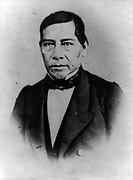 Benito Pablo Juárez  1806 – 1872, was a Zapotec indian from Oaxaca who served five terms as president of Mexico: 1858–1861 as interim