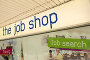 The Job Shop, employment job centre in the UK City of Culture 2021 on 23rd June 2021 in Coventry, United Kingdom. The Job Shop is for all people in Coventry residents looking for new work, education or training opportunities. The UK City of Culture is a designation given to a city in the United Kingdom for a period of one year. The aim of the initiative, which is administered by the Department for Digital, Culture, Media and Sport. Coventry is a city which is under a large scale and current regeneration.