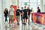 Ingresso Tifosi<br /> A|X Armani Exchange Olimpia Milano - Segafredo Virtus Bologna<br /> Eurosport Supercoppa 2020 - Final Four - Finale<br /> LBA Legabasket 2020/2021<br /> Bologna, 20/09/2020<br /> Foto L.Canu / Ciamillo-Castoria