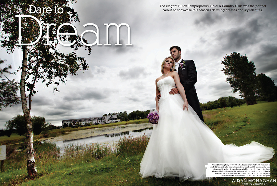 Hilton Hotel - Bridal Fashion Shoot - Ulster Bride 2012