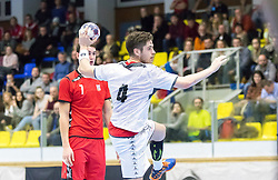 07.01.2017, BSFZ Suedstadt, Maria Enzersdorf, AUT, IHF Junior WM 2017 Qualifikation, Österreich vs Tschechische Republik, im Bild Ante Esegovic (AUT) // during the IHF Men's Junior World Championships qualifying match between Austria and Czech Republic at the BSFZ Suedstadt, Maria Enzersdorf, Austria on 2017/01/07, EXPA Pictures © 2017, PhotoCredit: EXPA/ Sebastian Pucher