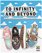 Vans Toy Story campaign shot for Schuh