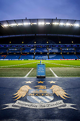 - Photo mandatory by-line: Rogan Thomson/JMP - Tel: 07966 386802 - 18/02/2014 - SPORT - FOOTBALL - Etihad Stadium, Manchester - Manchester City v Barcelona - UEFA Champions League, Round of 16, First leg.