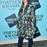 Connie Constance arrivers Skate at Somerset House with Fortnum & Mason Launch party, London, Somerset House, 12 November 2019, London, UK.