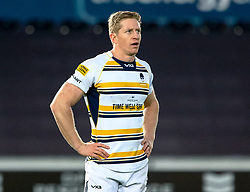 Scott Van Breda of Worcester Warriors<br /> <br /> Photographer Simon King/Replay Images<br /> <br /> European Rugby Challenge Cup Round 5 - Ospreys v Worcester Warriors - Saturday 12th January 2019 - Liberty Stadium - Swansea<br /> <br /> World Copyright © Replay Images . All rights reserved. info@replayimages.co.uk - http://replayimages.co.uk