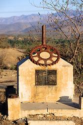 Memorial To Victor Manuel Granule Q Who Built Road