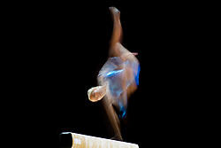 August 2, 2018 - Glasgow, UNITED KINGDOM - 180802 Maija Leinonen of Finland competes at the beam in the women's qualification of Artistic Gymnastics during the European Championships on August 2, 2018 in Glasgow..Photo: Jon Olav Nesvold / BILDBYRÃ…N / kod JE / 160280 (Credit Image: © Jon Olav Nesvold/Bildbyran via ZUMA Press)