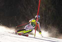 Christina Ackermann (GER)during the Ladies' Slalom at 56th Golden Fox event at Audi FIS Ski World Cup 2019/20, on February 16, 2020 in Podkoren, Kranjska Gora, Slovenia. Photo by Matic Ritonja / Sportida
