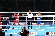 Boxen: AIBA Box-WM, Finale, Hamburg, 02.09.2017<br /> Wladimir Klitschko <br /> © Torsten Helmke
