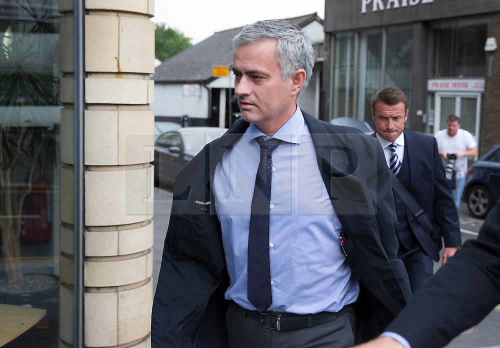 © Licensed to London News Pictures. 07/06/2016. Croydon, UK. Former  Chelsea FC manager Jose Mourinho arrives at the employment tribunal of former team doctor EVA CARNEIRO. A  hearing claiming constructive dismissal against Chelsea football club and Jose Mourinho is in it's second day. Photo credit: Peter Macdiarmid/LNP
