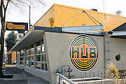 Hub used many sustainable features in renovating an old building that use to be the Sunset Fuel Company.