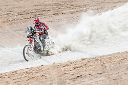 Daniel Nosiglia Jager (BOL) of MEC HRC Team races during stage 04 of Rally Dakar 2019 from Arequipa to o Tacna, Peru on January 10, 2019 // Marcelo Maragni/Red Bull Content Pool // AP-1Y39E8Z611W11 // Usage for editorial use only // Please go to www.redbullcontentpool.com for further information. //