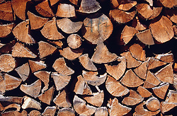 Pile of wood,
