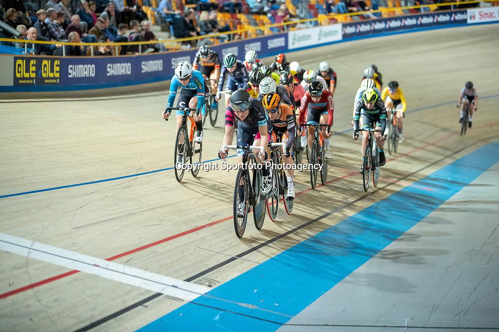 22-12-2019: Wielrennen: NK Baan Omnium: Apeldoorn<br />Maike van der Duin