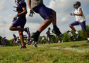 The Cane Ridge High School football team holds the first official practice of the season Monday evening in Antioch.The Ravens moved from Class 5A to 6A after a 12-1 win streak last year under head coach Eddie Woods.