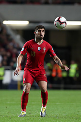 March 22, 2019 - Lisbon, Portugal - Portugal's midfielder Ruben Neves in action during the UEFA EURO 2020 group B qualifying football match Portugal vs Ukraine, at the Luz Stadium in Lisbon, Portugal, on March 22, 2019. (Credit Image: © Pedro Fiuza/NurPhoto via ZUMA Press)