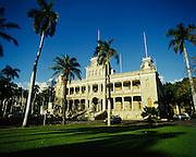 Iolani Palace, Honolulu, Hawaii