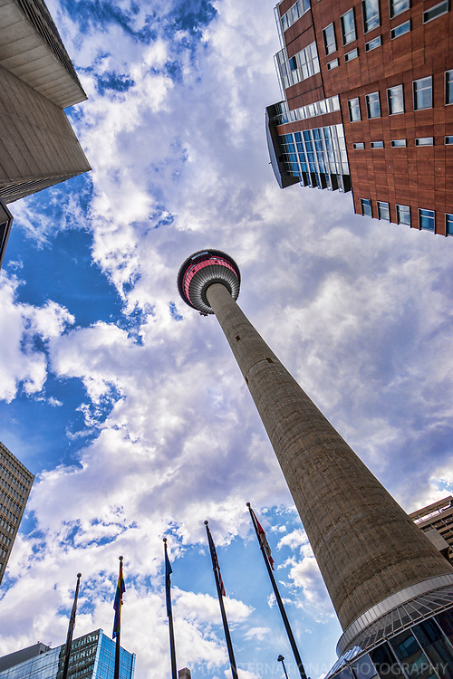 Calgary Tower, Downtown