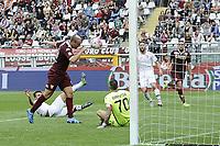 gol Gaston Maxi Lopez . Autogol Gonzalez Goal celebration <br /> Torino 27-09-2015 Stadio Olimpico Football Calcio Serie A 2015/2016 Torino - Palermo Foto Daniele Buffa / Image Sport / Insidefoto