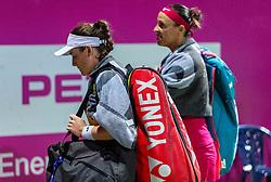 PORTOROZ, SLOVENIA - SEPTEMBER 18:  Tamara Zidansek and Andreja Klepac of Slovenia after playing doubles semifinal  during the WTA 250 Zavarovalnica Sava Portoroz at SRC Marina, on September 18, 2021 in Portoroz / Portorose, Slovenia. Photo by Vid Ponikvar / Sportida