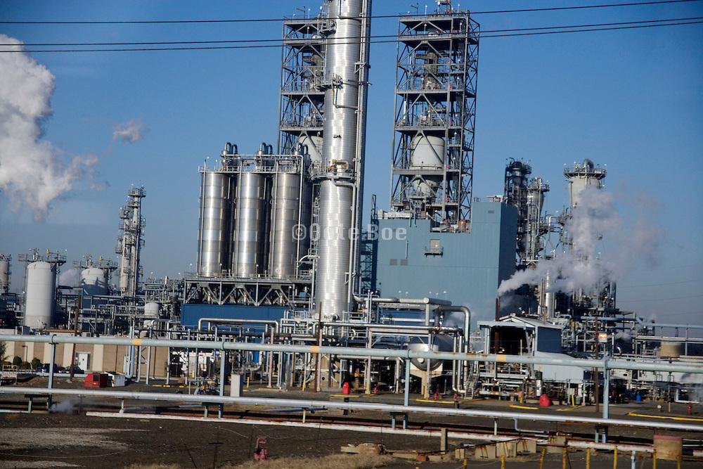 industrial factory plant USA