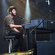 Billy Lockett performs at Kew the Music 2019 on 14 July 2019, London, UK.