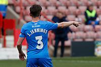 James Jennings. Wrexham AFC 0-3 Stockport County FC. Vanarama National League. The Racecourse Ground. 10.4.21