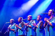 Repro Free:   Ladysmith Black Mobazo who performed  at  at 40th The Galway International Arts Festival . #GIAF17, Photo:Andrew Downes, xposure .