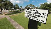 Listen & Learn tour at Black Middle School, September 20, 2016.
