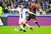 FOOTBALL : Lyon vs Guingamp - Ligue 1 - 22/10/2016<br /> <br /> 21 MAXIME GONALONS (ol) - 08 LUCAS DEAUX (eag)<br /> Norway only