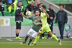 September 10, 2017 - Saint Etienne - Stade Geoffroy, France - Remy Cabella (saint etienne) vs Yoann Andreu  (Credit Image: © Panoramic via ZUMA Press)